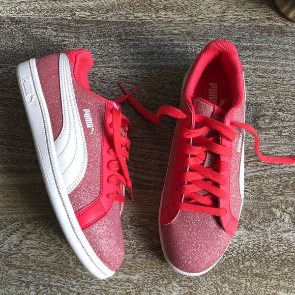 Puma Shoes   Smash Glitz Glamm Sneaker